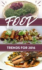 10 huge food trends you u0027ll devour in 2016