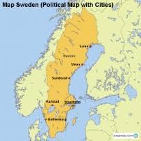 map of sweden stepmap maps for sweden