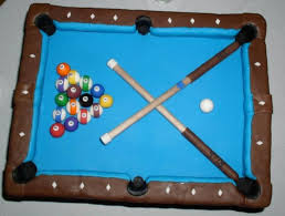 Diamond Pool Table Pool Table Cake Cakecentral Com