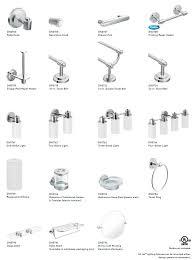 awesome moen bathroom lighting moen iso bathroom accessories