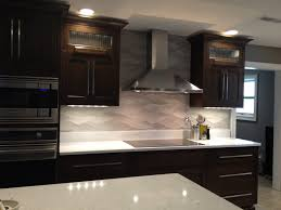 contemporary kitchen wood veneer island high gloss stunning