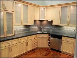 backsplash blonde kitchen cabinets blonde maple kitchen cabinets