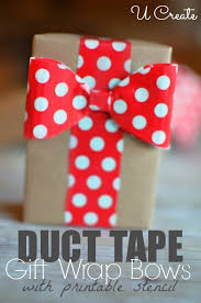 gift wrap bows diy gift wrap bows with duct u create