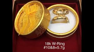 saudi gold wedding ring 18k saudi gold wedding rings with weight