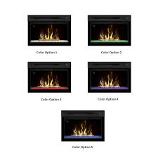 dimplex 25 in multi fire xd contemporary electric fireplace insert