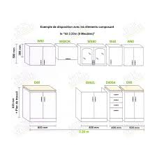 impressionnant meuble de cuisine en kit pas cher décoration