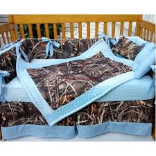 Blue And Green Crib Bedding Sets Camo Kids Bedding Real Tree Max 4 Advantage Camouflage And Baby