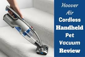 hoover air handheld cordless vacuum review