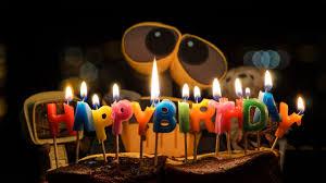 wallpaper happy birthday cake candles 4k celebrations 6273