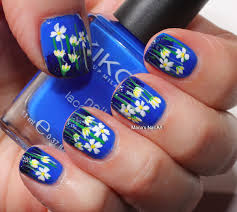 marias nail art and polish blog electric blue meteor shower