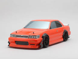 nissan orange yokomo sd c33b drift body nissan laurel c33 yukes team