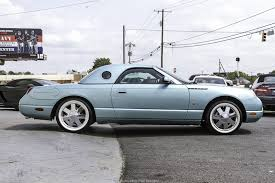 2002 Ford Thunderbird Premium Stock by 2002 Ford Thunderbird W Hardtop Premium Stock 110007 For Sale