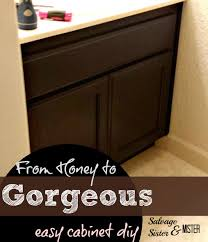 changing your honey cabinets easily honey change and bathroom