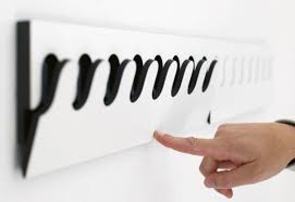 wall mounted coat rack contemporary metal ponoq by nils