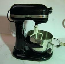 kitchenaid mixer black all black kitchenaid mixer professional commercial all metal mixer