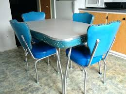 retro kitchen table and chairs set trendy 1950s kitchen table boldventure info