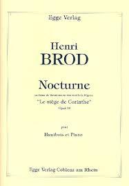 siege en forme de oboe and piano brod henri nocturne en forme de variations sur des