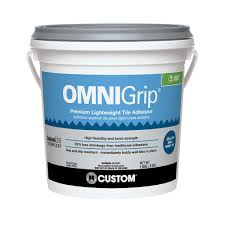 custom building products omnigrip 1 gal maximum strength tile