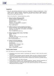 confederation of indian industry recommendations for guideline change u2026