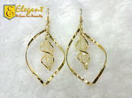 stylish gold earrings artificial gold stylish earrings party wear by xcitefun net