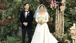 the last song wedding dress christian reveals the of song hye kyo s wedding dress
