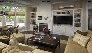 where to put tv where to put fireplace on same wall next to tv