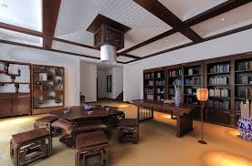 CHINESE HOUSE INTERIORS Classic Chinese Style Ceo Office - Chinese style interior design