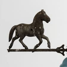 Horse Weathervane On Stand Lincoln Nebraska Horse Weathervane