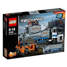 lego technic truck 42062 lego technic conteneur yard 1 en 2 camion set 631 pieces 8