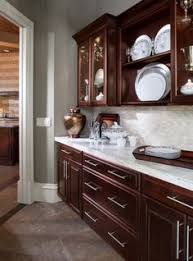 Kitchen Design Cherry Cabinets by Shop Shenandoah Bluemont 13 In X 14 5 In Bordeaux Cherry Square