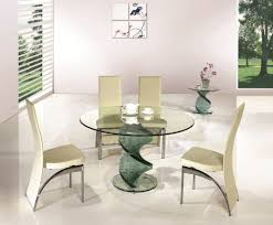 round glass dining table and chairs sale