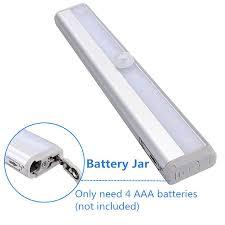 Stick On Led Lights Strips by Morpilot Motion Sensor Closet Light Led Cabinet Light Battery