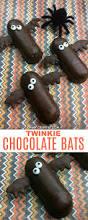 halloween twinkie chocolate bats oh my creative