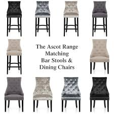 Ascot Bar Stool Tweed Fabric Atlantic Shopping - Dining table sets with matching bar stools