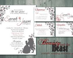 and the beast wedding invitations the most popular collection of and the beast wedding