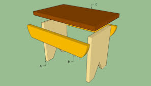Build A Wood Desktop by How To Build A Stool Howtospecialist How To Build Step By