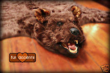 Fake Lion Skin Rug With Head Faux Bear Skin Rug With Head Rugs Ideas