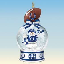 indianapolis colts snow globe ornaments your 1st one is free