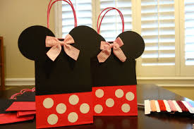 halloween goody bags diy mickey u0026 minnie mouse goody bags the kim chronicles
