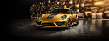 gold porsche convertible porsche 911 turbo s exclusive series porsche usa