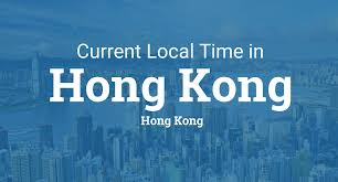 Utc Time Zone Map by Current Local Time In Hong Kong Hong Kong