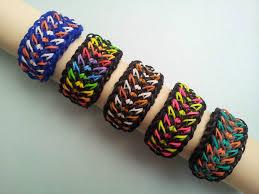 bracelet looms double images Tire track rainbow loom bracelets tutorial jpg