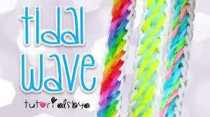 bracelet looms youtube images New tidal wave rainbow loom bracelet tutorial how to jpg