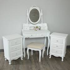 Mirrored Bedroom Furniture Uk by Lila Range White Bedroom Furniture Melody Maison