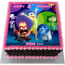 inside out cakes inside out birthday cake flecks cakes