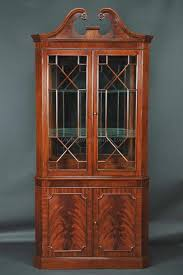 dining room corner hutch built in china cabinet for the home