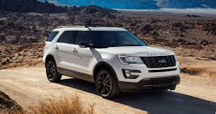 Ford Explorer Grill Guard - 2017 ford explorer xlt sport pack is high impact styling upgrade
