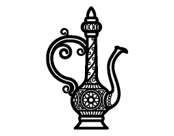 morroco teapot coloring page coloringcrew com