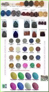 titanium coated flat drusy color chart information jpg