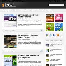bigfoot wordpress theme free download news pinterest themes